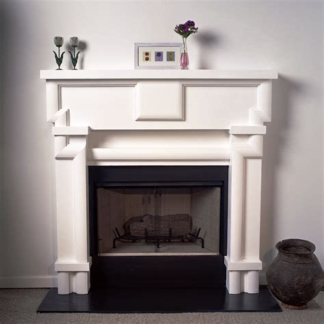 Plaster Fireplace Mantels by A Plus Inc Lanier 36