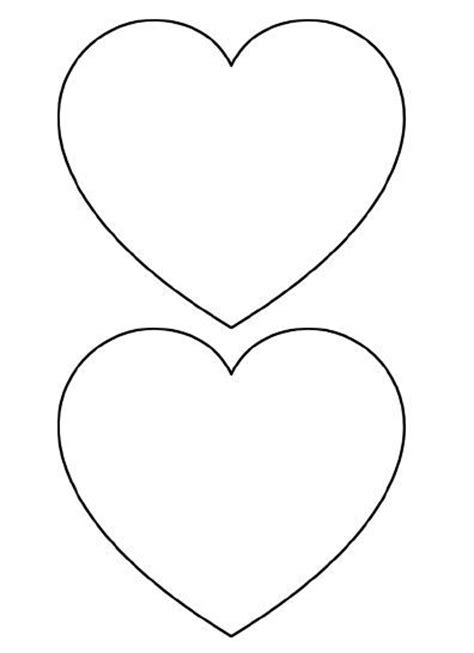 1000 ideas about heart template on pinterest templates