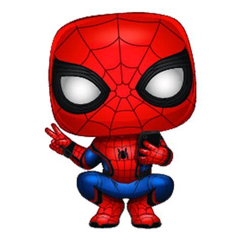figura funko pop spider man traje heroe marvel spider