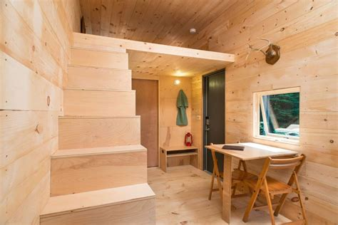 tiny house getaway test drive a mini cabin in rural new york live a big life in a tiny house on wheels