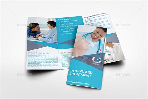 tri fold medicine medical care tri fold brochure template by owpictures
