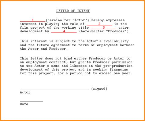 Commitment Letter Employer 10 Letter Of Commitment Mac Resume Template