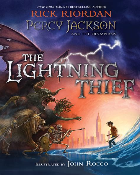 the lighting thief percy jackson and the olympians percy jackson s