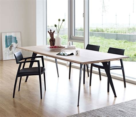 Extendable Oval Dining Table Modern Rustic Dining Table From Denmark Dm3100 Wharfside