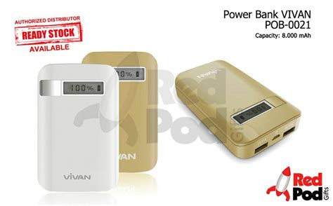 Power Bank Vivan Pin By Redpod Gifts On Powerbank
