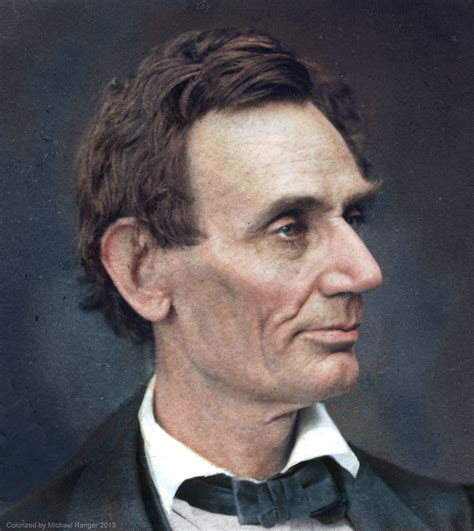 what color was abraham lincoln lincoln in color infinityandstuff