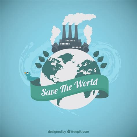 How To Save The World save the world vector free