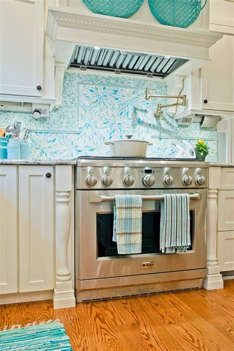 turquoise backsplash 2647 best images about cool kitchens on pinterest house