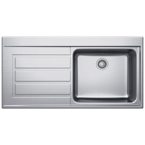 franke inset sink franke epos eox 611 stainless steel 1 0 bowl kitchen inset