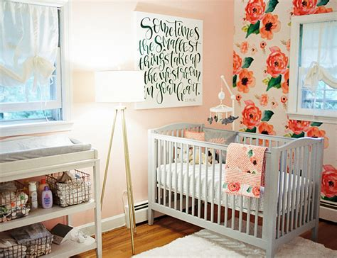 rose themed nursery pink rose nursery decor advisor