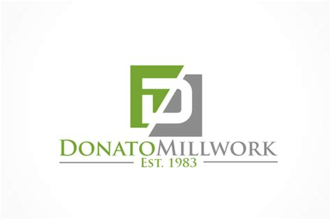 design a modern logo modern logo for millwork company by donatomillwork
