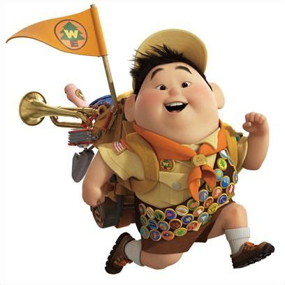 what is the boy scout s name in the film up marina s favourite boy scout ballislifeee pinterest