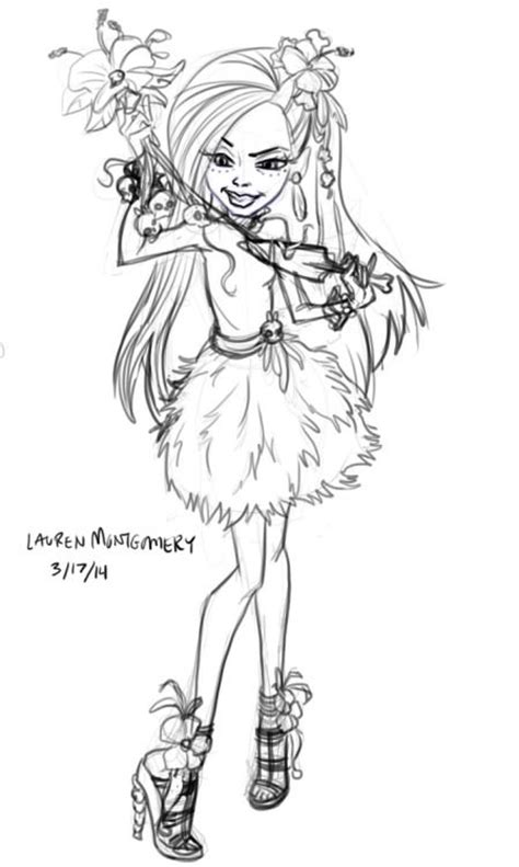 monster high coloring pages amanita nightshade box art the o jays and art on pinterest