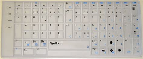 typematrix 2030 usb english qwerty black qwerty images usseek com