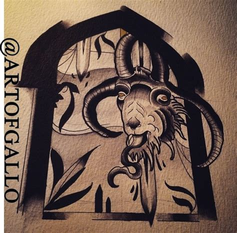 oriental goat tattoo japanese goat tattoo gallery