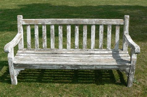 old wooden bench old wooden garden bench home outside pinterest
