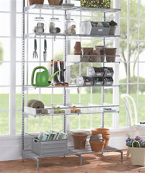 Elfa Freestanding Closet by Platinum Elfa Freestanding Sunroom Shelving The