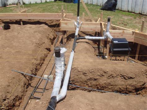 Slab Plumbing by Dwv Installation Slab