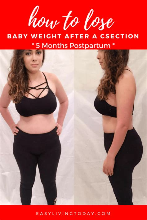 5 Months After C Section by 5 Months Postpartum Losing Baby Weight After C Section