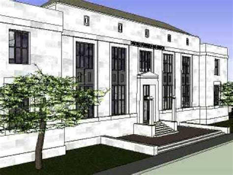 Mt Airy Post Office by United States Post Office Mount Airy Nc Sketchup