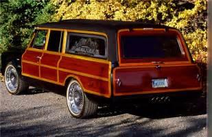 1970 chevrolet suburban custom woody wagon barrett