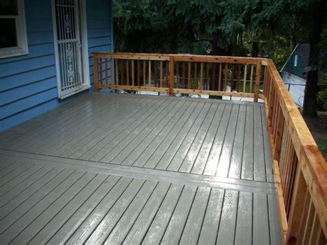 gray deck tamko elements cape cod grey composite deck w cedar