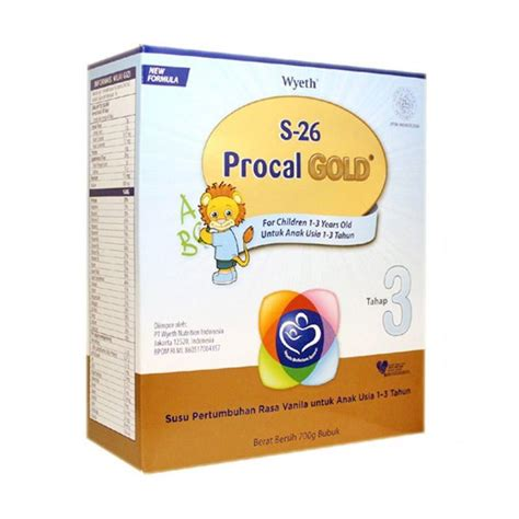 S26 Procal Gold 700 G by Jual S26 Procal Gold Tahap 3 Formula 700 G