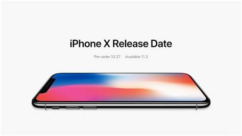 apple x launch date iphone x price release date and availability iphoneheat