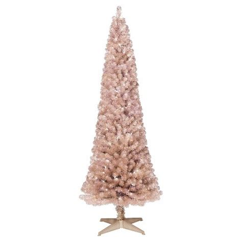 artificial white trees target 6ft pre lit artificial tree slim gold