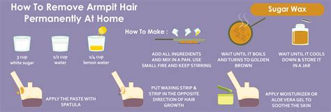 How To Remove Hair From by How To Remove Armpit Hair Permanently At Home Wound Care