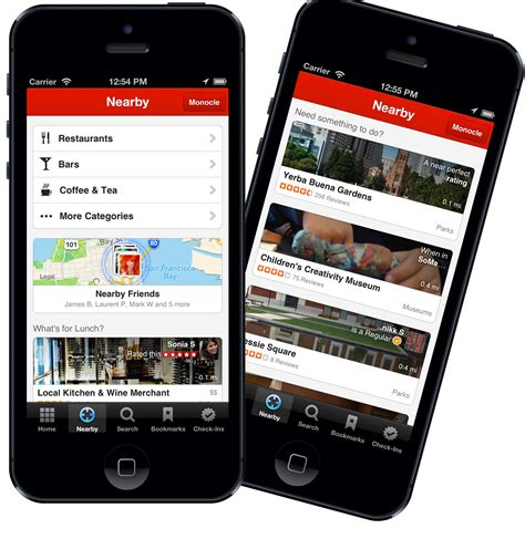 Android Nearby Ios by Yelp Revs Nearby In Ios App With Suggestions Android Next