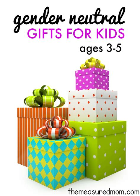 30 gender neutral gifts for kids ages 3 5 the