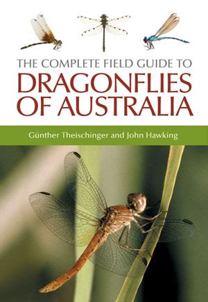 handbook to the new gold fields books the complete field guide to dragonflies of australia