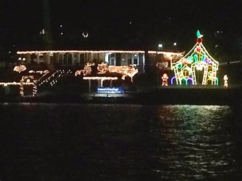 lake geneva boat tours christmas view from santa cruise boat tour foto de lake geneva