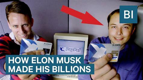 Elon Musk Business Card