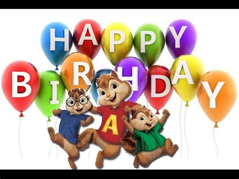 download mp3 happy birthday chipmunks best happy birthday song chipmunks cover by alvin and