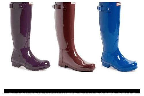 any deals on hunter boots