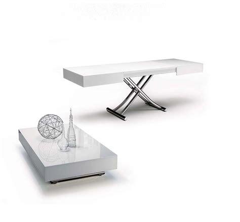 ozzio tavoli tavolo trasformabile in cristallo by ozzio
