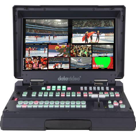 Datavideo Hs 600 8 Channel Mobile Sd Studio Datavideo Hs 2800 Carried Hd Sd Mobile Studio Hs 2800 8 B H