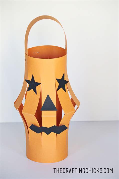 O Lantern Paper Craft - paper lanterns kid craft the crafting