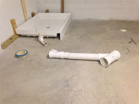 basement bathroom vent pipe basement bathroom use shower vent for toilet plumbing