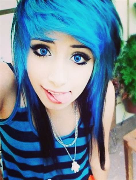 emo chick hairstyles cool emo hairstyles hair
