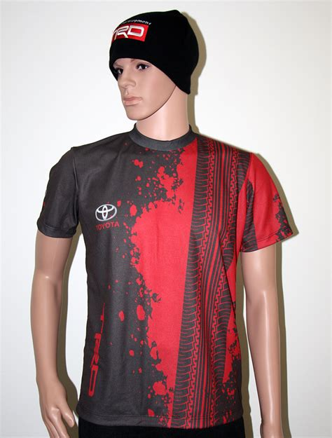Tshirr Trd Bas toyota trd t shirt with logo and all printed picture