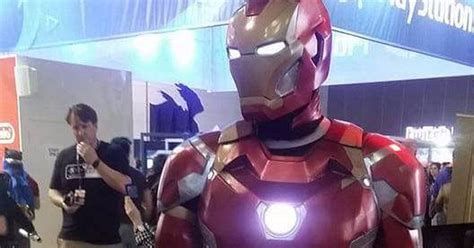 marveling awesome fan iron man suit