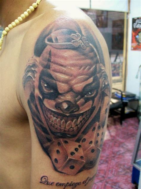 clowns tattoos clown aluvha alain artelista en