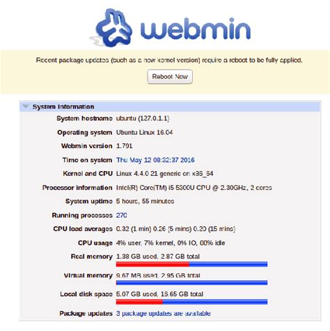 tutorial webmin linux how to install webmin on ubuntu 16 04 idroot