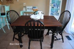 Painted Kitchen Table And Chairs Rustic Maple Four Farm Tables