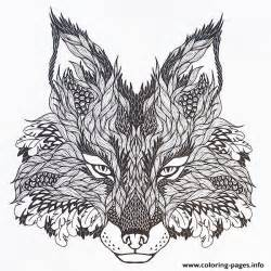 wolf coloring pages for adults print adults difficult animals wolf hd color coloring