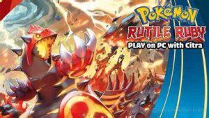 pokemon rutile ruby decrypted citra pokemoner.com