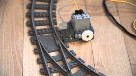 arduino  lego trains  motorized track switches youtube